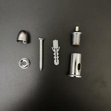 4 упаковки фиксированного винта/подвесной провод фитинг для стального кабеля крепления/подъема веревки из нержавеющей стали/используется без потолка