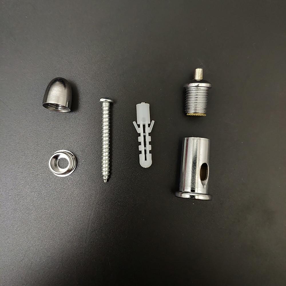 4 упаковки фиксированный винт/подвесной фитинг для стального кабеля/подъемная веревка из нержавеющей стали/используется без потолка.