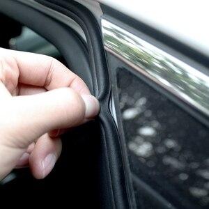 Image 2 - Araba Styling kapı contası gezileri gövde ses yalıtımı su geçirmez sızdırmazlık araba Styling etiketler evrensel otomobil İç aksesuar