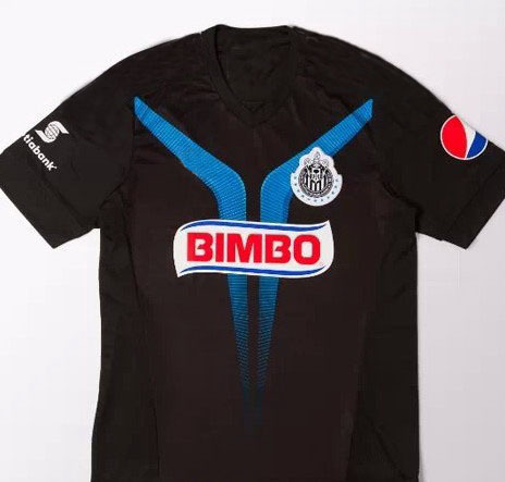 Mexican Football Club 15 16 Chivas Guadalajara Away Black