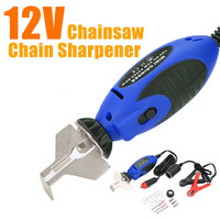 1Set Handheld Chainsaw Sharpener 12V Electric Saw Filing Chainsaw Chain Sharpener for Garden Tool Parts