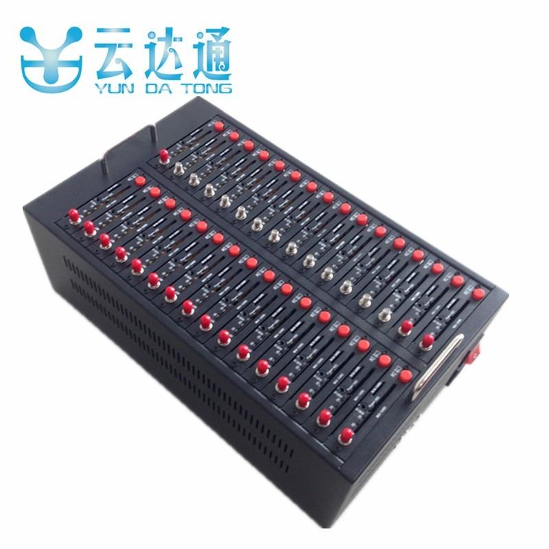 Bulk SMS Software Wavecom Q2303 32 Ports GSM Modem Pool USB Interface 900 1800MHz 32 sim