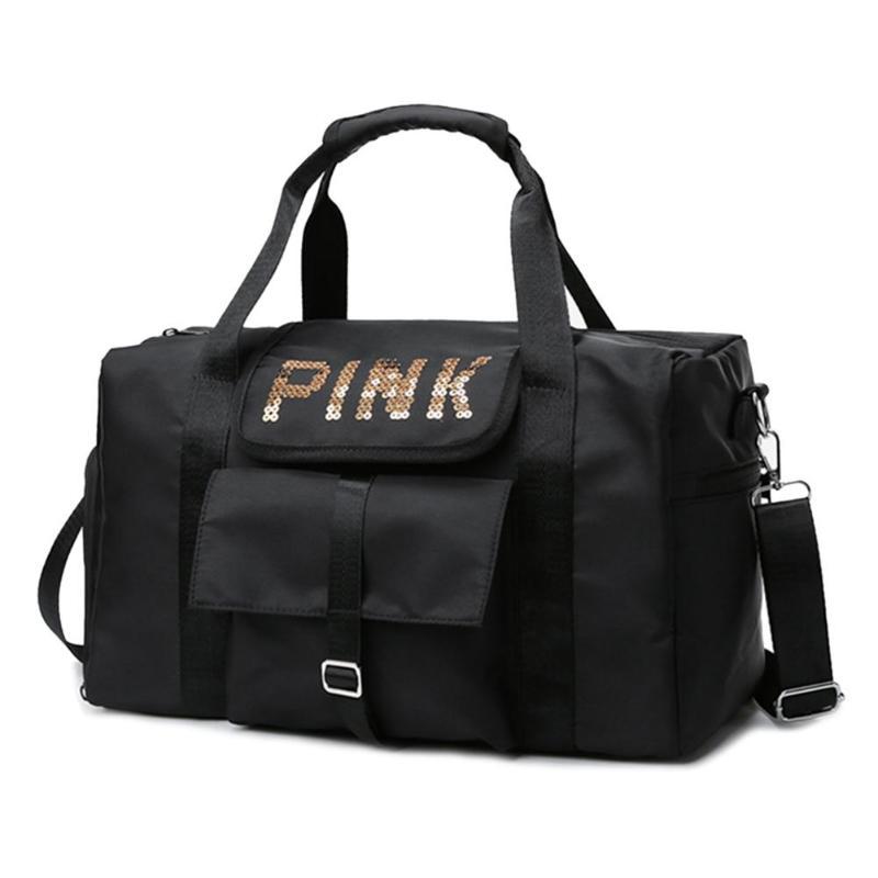 2019 New Large Capacity Men Women Hand Luggage Travel Duffle Bags Weekend Bags Multifunctional Travel Bags Bolsas Women Travel B