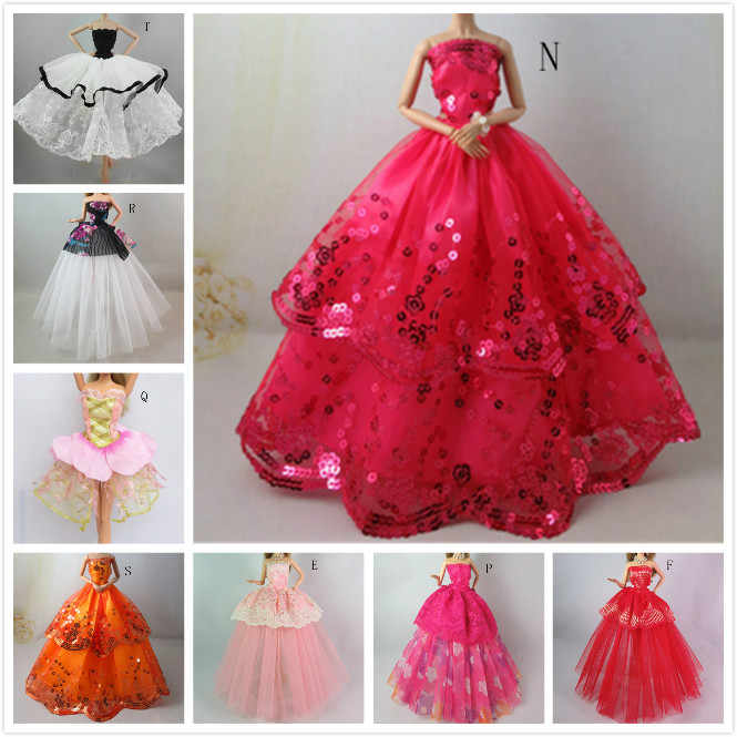 250f1dec57811 One Piece Wedding Dress Party Gown Princess Cute Outfit Clothes For ...