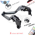 extenable motocross brake clutch levers for honda CBR 600 F2 F3 F4 F4i 1991-2007 CB599 / CB600 HORNET 1998-2006 CB919 2002-2007