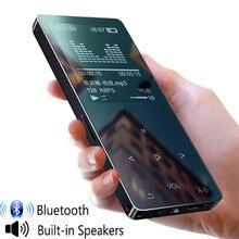 Lecteur MP4 avec bluetooth sport mp3 mp4 lecteur de musique avec haut-parleur portable mp 4 médias mince écran tactile fm radio vidéo Hifi 16GB