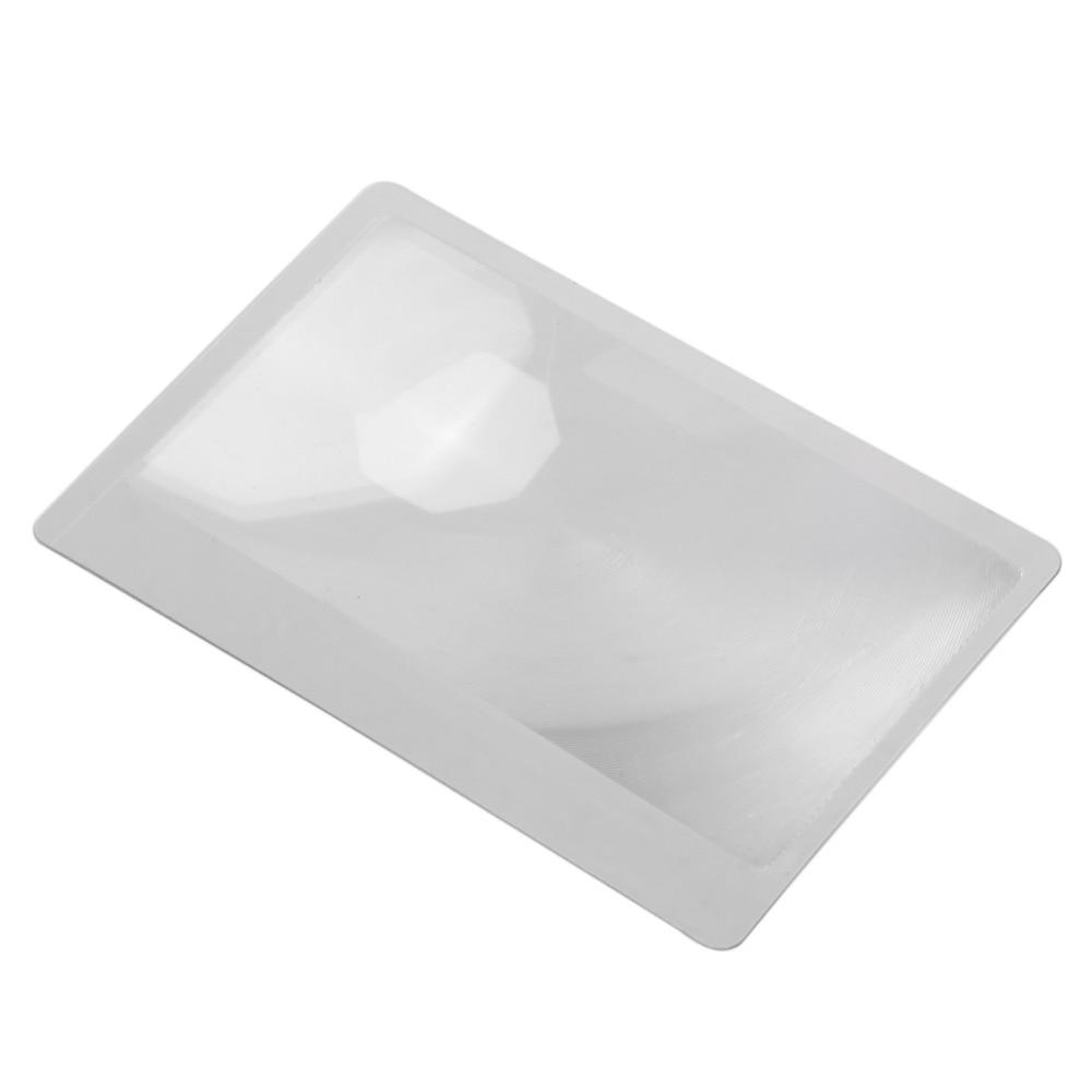10 PCS 3 X padidinamojo stiklo didinamasis Fresnel LENS 8.00 * 5.50 * - Matavimo prietaisai - Nuotrauka 3