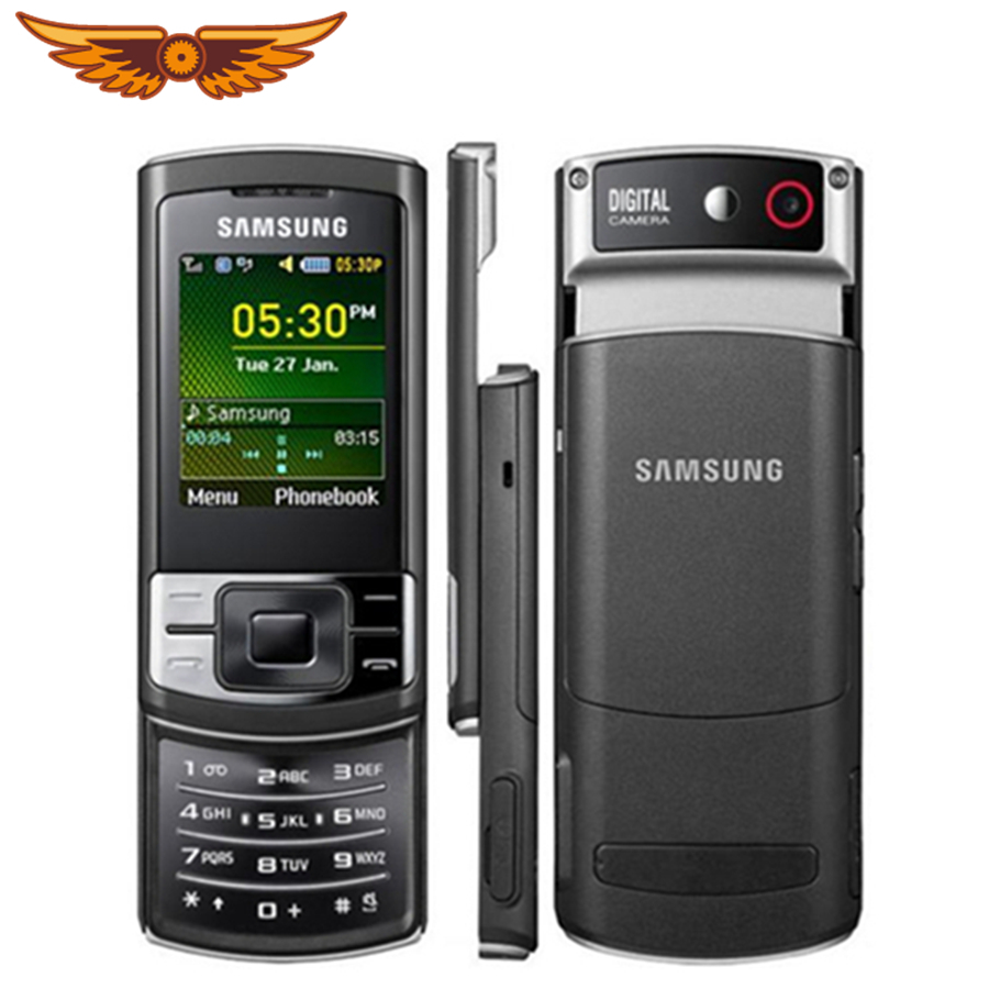 C3050 Original Unlocked Samsung C3050 2.0 Inches GPRS GSM Cheap Mini-SIM Cellphone Refurbished Mobile Phone(China)