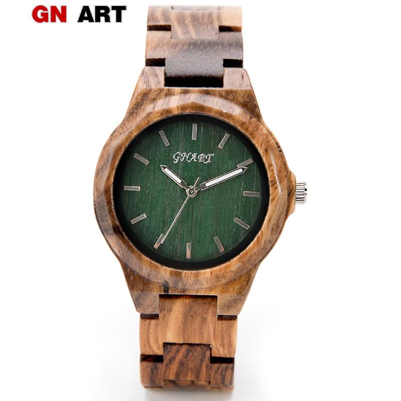 GNART reloj mujer women wood watches relojes para mujer wood watch