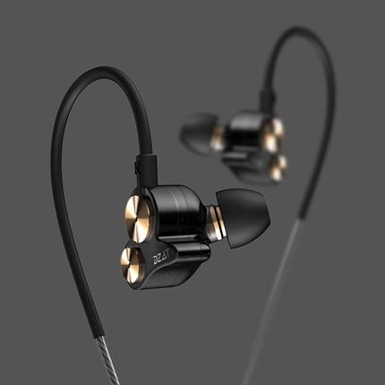 2016 New Original DZAT DT-05 3.5mm In Ear Earphone DIY DJ Headset Pure Wood Heavy Bass Music HIFI Earbuds брелок dt tk0124 18k diy
