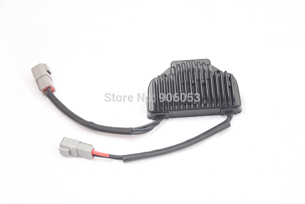 brand new Motorcycle Voltage Regulator Rectifier For Harley Davidson 2006-2007 FXD FXDWG Dyna Drag Specialties Black цена и фото