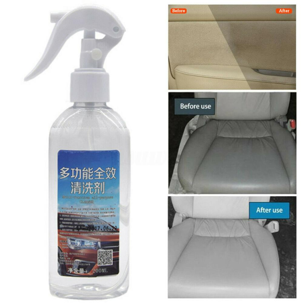New 200ml Multi-functional Car Interior Agent Universal Home Auto Window Door Chair Cleaning Retreading Agent Foam Cleaner