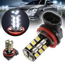 H8/H11 5050 27LED Car Lights White Canbus No Error Fog Light Headlight Driving Bulb Day-time Running Lamp