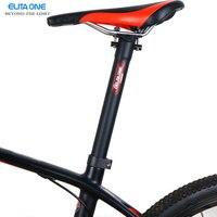 Велосипед углеродного волокна сообщение сиденье горная дорога Велосипедное седло трубки Велосипедный Спорт подседельный 27.2/30.8/31.6*300/350 /400 м...