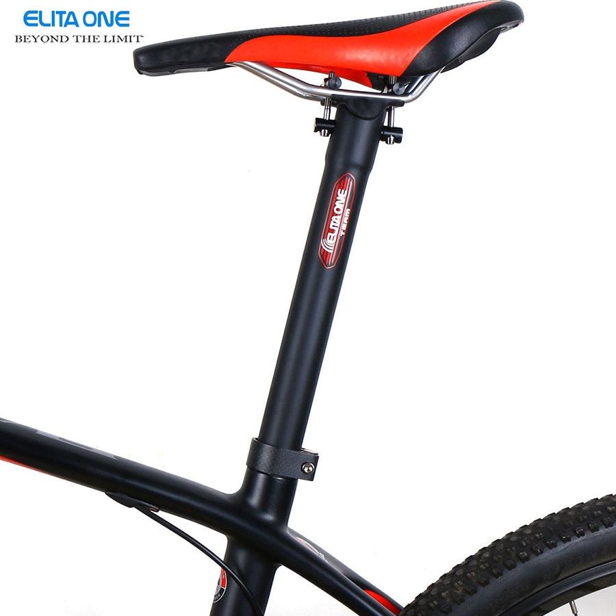 Bike Carbon Fibre Seat post Mountain Road Bicycle <font><b>Saddle</b></font> Tube Bicycle SeatPost 27.2 / 30.8/ 31.6*300/350/400mm Super light 135g