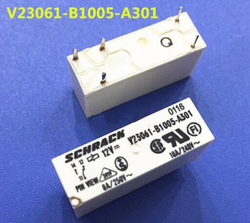 NEW relay V23061-B1005-A301 12VDC V23061-B1005-A301-12VDC V23061B1005A301 12VDC 12V DC12V DIP5 hot toys avengers age of ultron iron man mark mk 43 with led light pvc action figure collectible model toy
