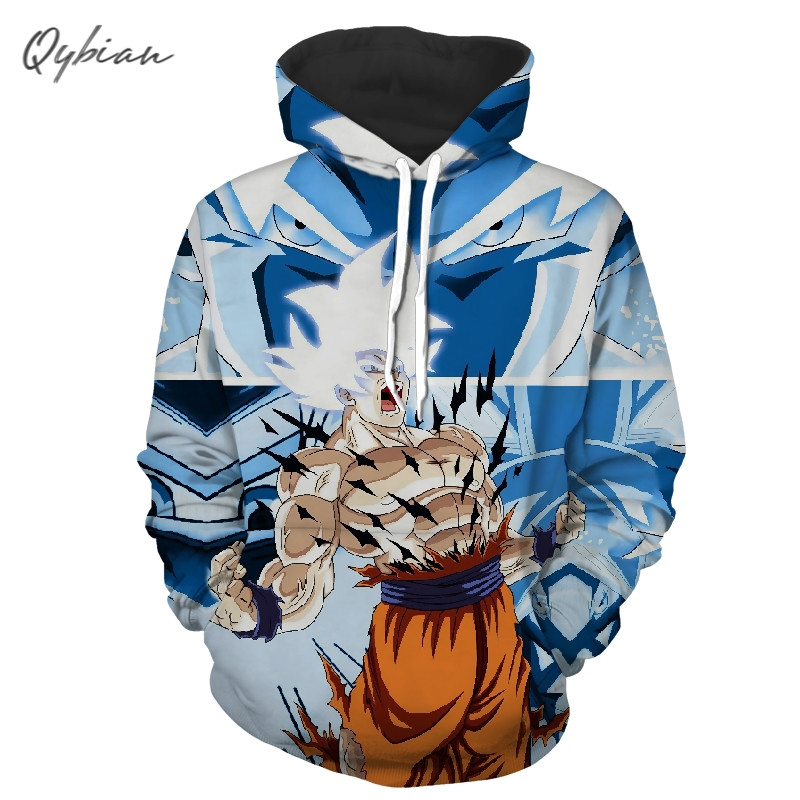 2018 new men's and women's clothing fashion trend 7 dragon ball 3D printed Hoodie Sweatshirt <font><b>Bts</b></font> Hoodie Haikyuu <font><b>Unisex</b></font> Pullover image