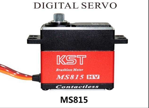 Оригинальный KST MS815 20 кг/0,07 Металл GearDigital крыла Servo Для RC Glider вертолет