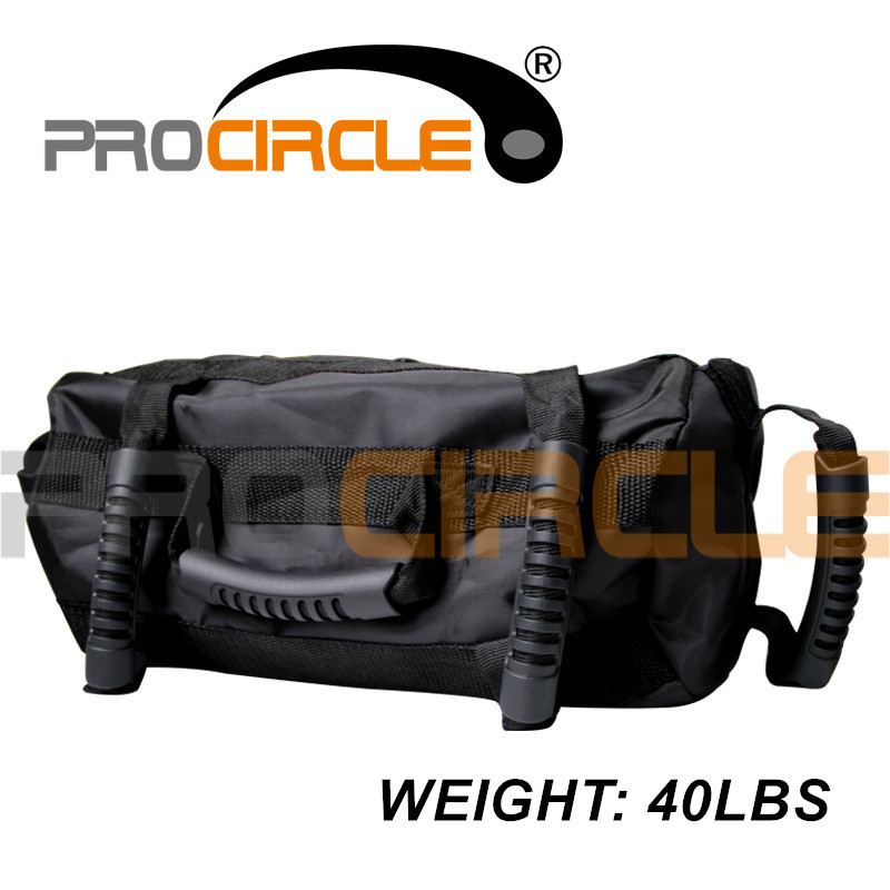 ProCircle 40LB Adjustable Punching Bag for Fitness Training Boxing Power Bag Sand Bag with Straps High Quality army green red empty kick boxing bag training fitness punching bag saco de boxeo hook hanging mma fight sandbag empty gloves