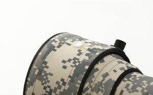 Image 4 - ROLANPRO imperméable lentille Camouflage manteau couverture de pluie pour Sigma 60 600mm f4.5 6.3 DG OS HSM Sport lentille étui de protection pistolets tissu
