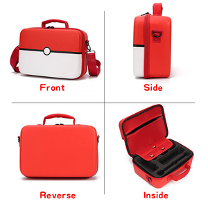Image 2 - Hand Bag for Nintend Switch Travel Carrying Box Protective Case for Nintendo Switch NS Console Pokeball Game Accessories Storage