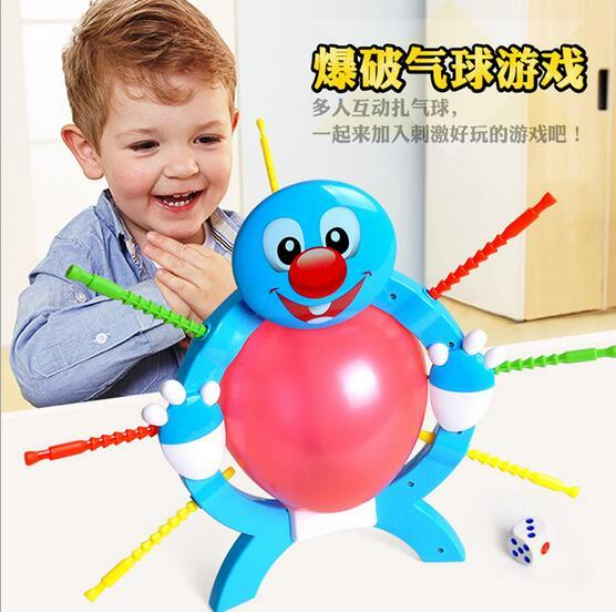 2016 Children's educational toys balloon blasting crisis parent-child interactive board game party heartbeat toys