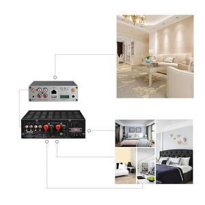 Image 5 - Домашний мини усилитель Arylic A50, Wi Fi и Bluetooth, Hi Fi, стерео, класс D, цифровой мультикомнатный усилитель с эквалайзером Spotify Airplay, бесплатное приложение