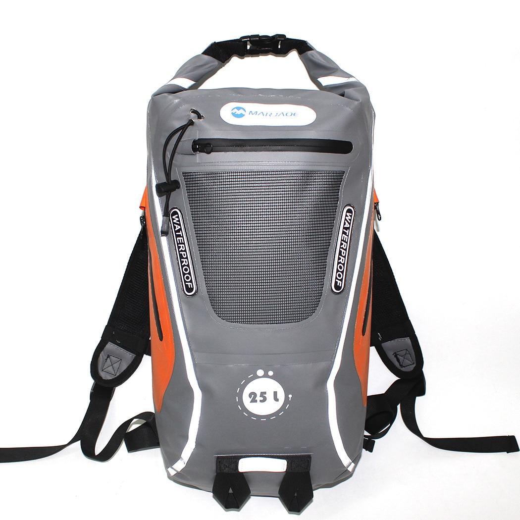 Nouveaux sacs imperméables sac sec PVC voyage sac à dos étanche sac de sport Rafting natation sacs à dos imperméable canoë sac sec