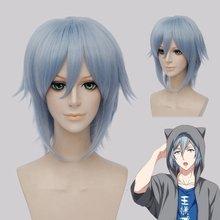 Idolish7 YOTSUBA TAMAKI Wig NIKAIDO YAMATO Cosplay Wig IZUMI MITSUKI Anime Synthetic Hair IZUMI IORI Short Straight Party Wig