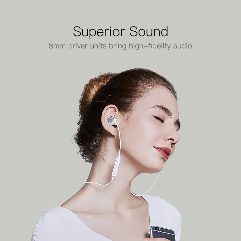 QCY QY19 Sports Bluetooth Earphones Wireless Sweatproof Headset Music Stereo Earbuds Bluetooth V4.1 with Microphone 2