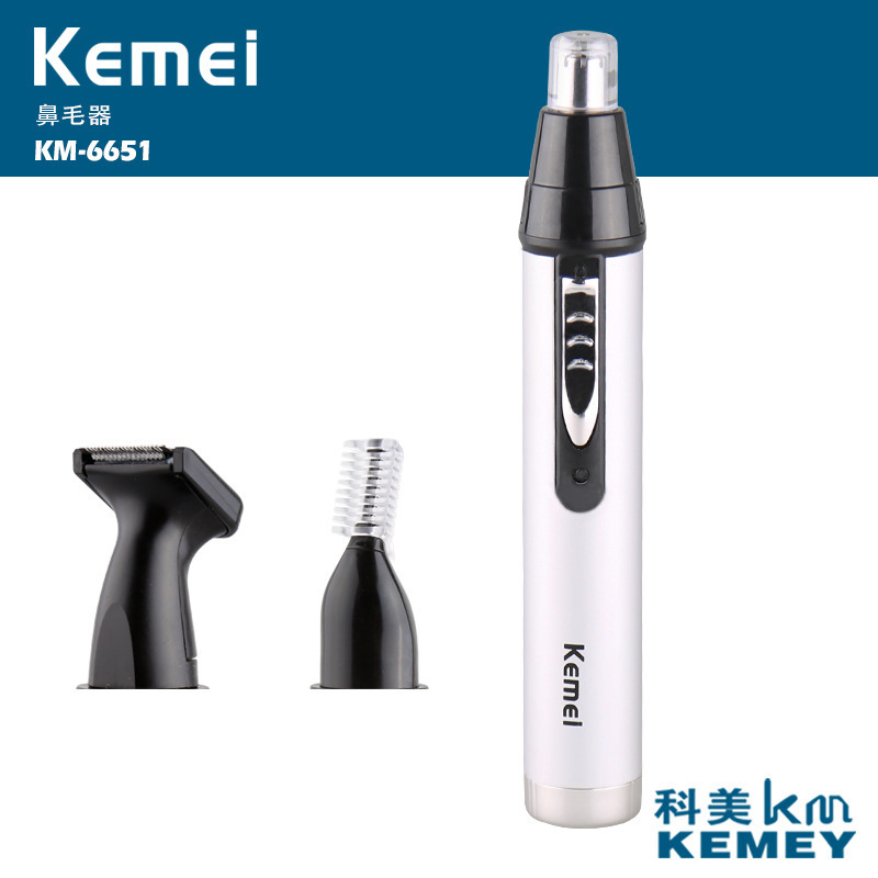 Kemei Multifunzionale degli uomini Rasoio Peli del Naso Trimmer Rasoio Elettrico per Gli Uomini Impermeabile Professionale Viso Cura Dispositivo Rasoio