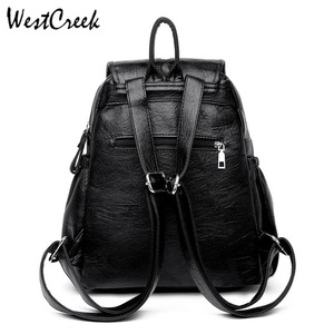 Image 5 - WESTCREEK Brand Women Backpack High Quality Leather Fashion School Backpacks Female Feminine Casual Large Capacity