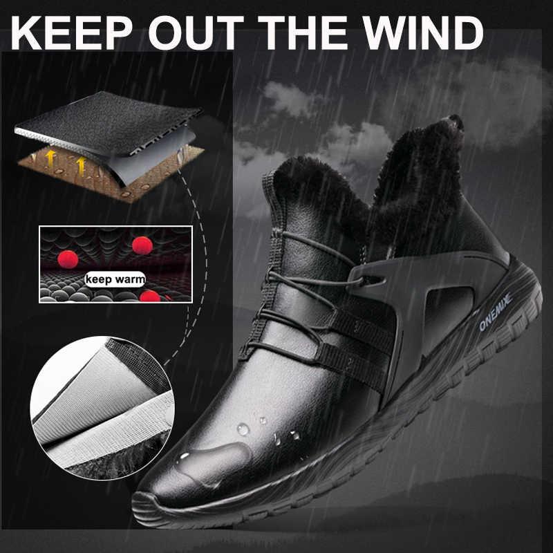 الرجال الشتاء الأحذية مع الفراء 2019 الدافئة حذاء الثلوج أحذية رجالي في الكلاسيكية الأسود أحذية رياضية في الهواء الطلق الركض أحذية رياضية الصيف
