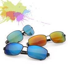Gafas de Sol de Los Hombres del verano de La Vendimia Polaroid UV400 Wayfarer De Conducción: Hombre Aleación De Metal Gafas Gafas de Sol Masculino gafas de sol Luneta