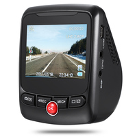 T690C 1440P Dual Camera Hidden Dash Cam DVR 170 Degree 2.31 inch Car Driving Recorder Support G Sensor Loop recording