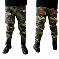 Novos Meninos Únicas Calças de Camuflagem Crianças Estilo Militar Ao Ar Livre Calças Crianças Sporting Conforto Denim Calças Resistentes Ao Desgaste