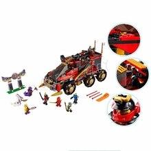 Ninjagoes Marvel Ninja Building Blocks 10325 Action Figure Model Kits Brick Toys Minifigures