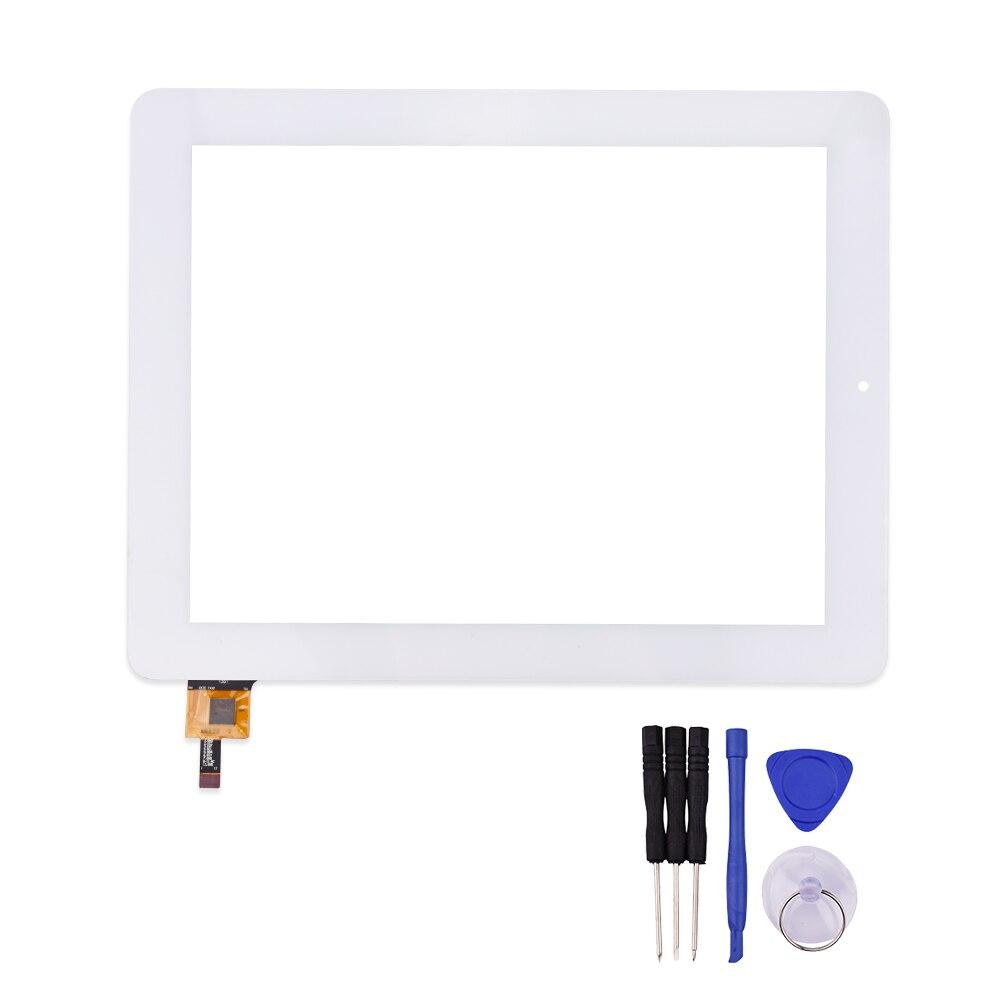 Blanc 9.7 pouce QSD E-C97015-01 pour Z99-C A9-C Ordinateur Tablette Tactile Écran Numérique Panneau Lentille En Verre Tactile Panneau
