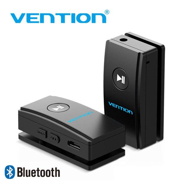 Vention kablosuz Bluetooth alıcısı 4.2 Aux 3.5mm Bluetooth ses alıcısı müzik adaptörü için araba Stereo kulaklık hoparlör MP3