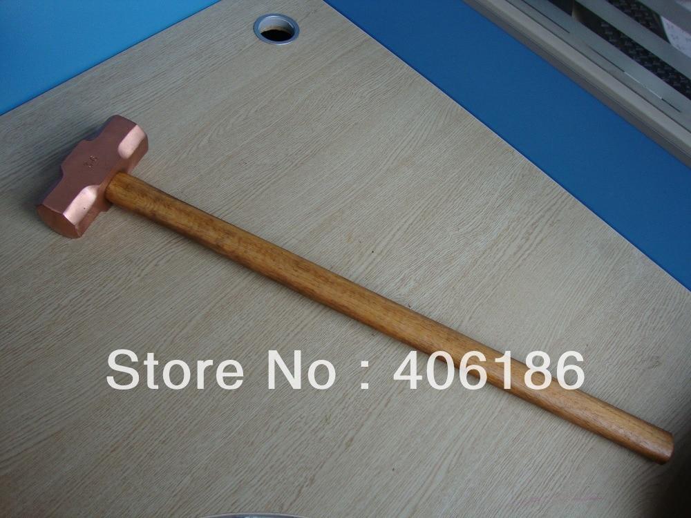 4 5 Kg Vorschlaghammer Mit Holzgriff Rotes Kupfer Funken Safety