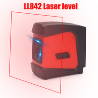 CDEK LL842 Red Laser Level 360 Self leveling Rotary 2 Lines 1 Point Nivel Laser auto nivelamento Portable Diagnostic tools