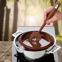 Nieuwe Komen 20 stks/partij Digitale Siliconen Spatel Koken Thermometer Geweldig Spatel voor Snoep, chocolade, crèmes, sauzen SL6027