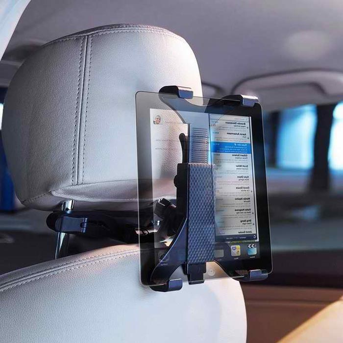 2017 Titulaire Achterbank Hoofdsteun Houder Voor iPad 2 3/4 Air 5 Air - Auto-interieur accessoires - Foto 2
