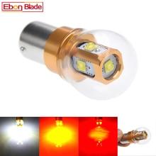 1Pcs 1156 7506 BA15S P21W XBD 25W LED Car Tail Bulb Brake Lights Auto Reverse Lamp Daytime Running Light Red White Amber 10V-30V