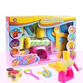 Conjunto de moldes diy colorido play doh massinha ferramentas play doh ple play doh plasticina molde brinquedos do bebê para a aprendizagem de crianças plasticina a100