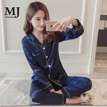 MJ052A 5XL Big Size Satin Pajamas Silk Pijama Feminino Pyjamas Women Pijamas Mujer Pyjama Femme Plus Kigurumi
