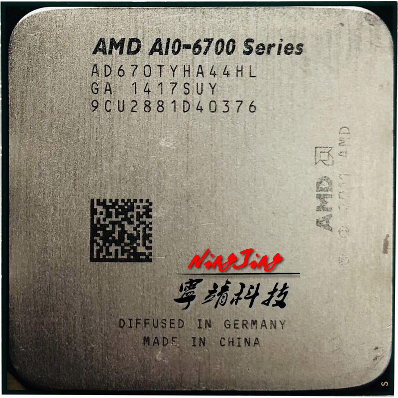 Amd A10-series A10-6700t A10 6700 T A10 6700 T 2,5 Ghz Quad-core Cpu Prozessor Ad670tyha44hl Sockel Fm2