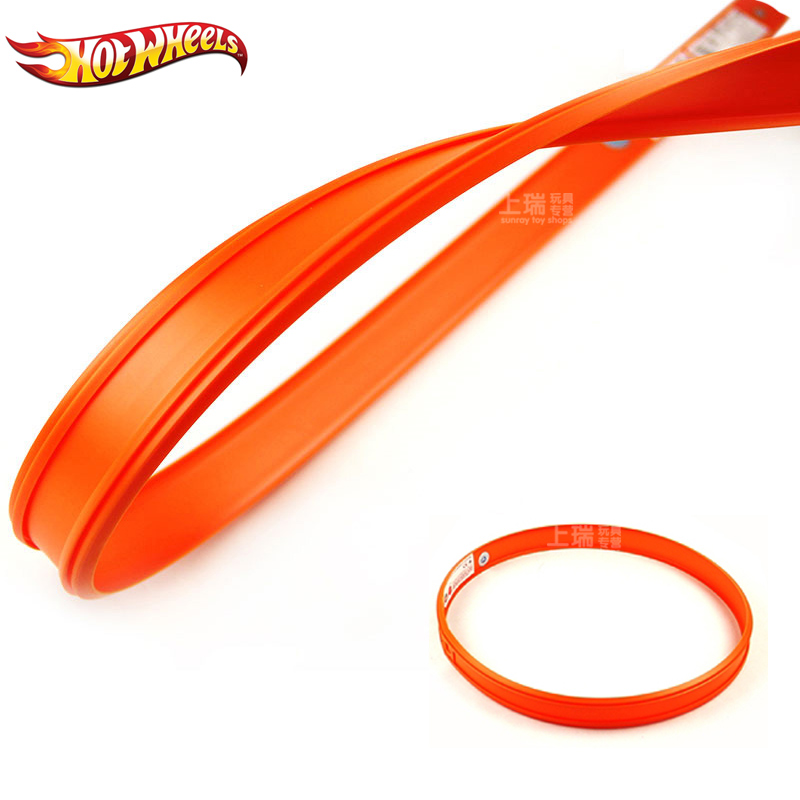 Hot Wheels 1 Pcs Accessories Roundabout  Track Toy Kids Toys Model Plastic Miniatures Cars Track Educational Slot Car Toy Bct38 #6
