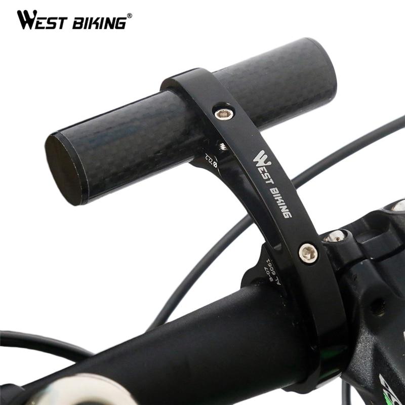 Road Bicycle Bike Handlebar Extension Mount Carbon Fiber Extender