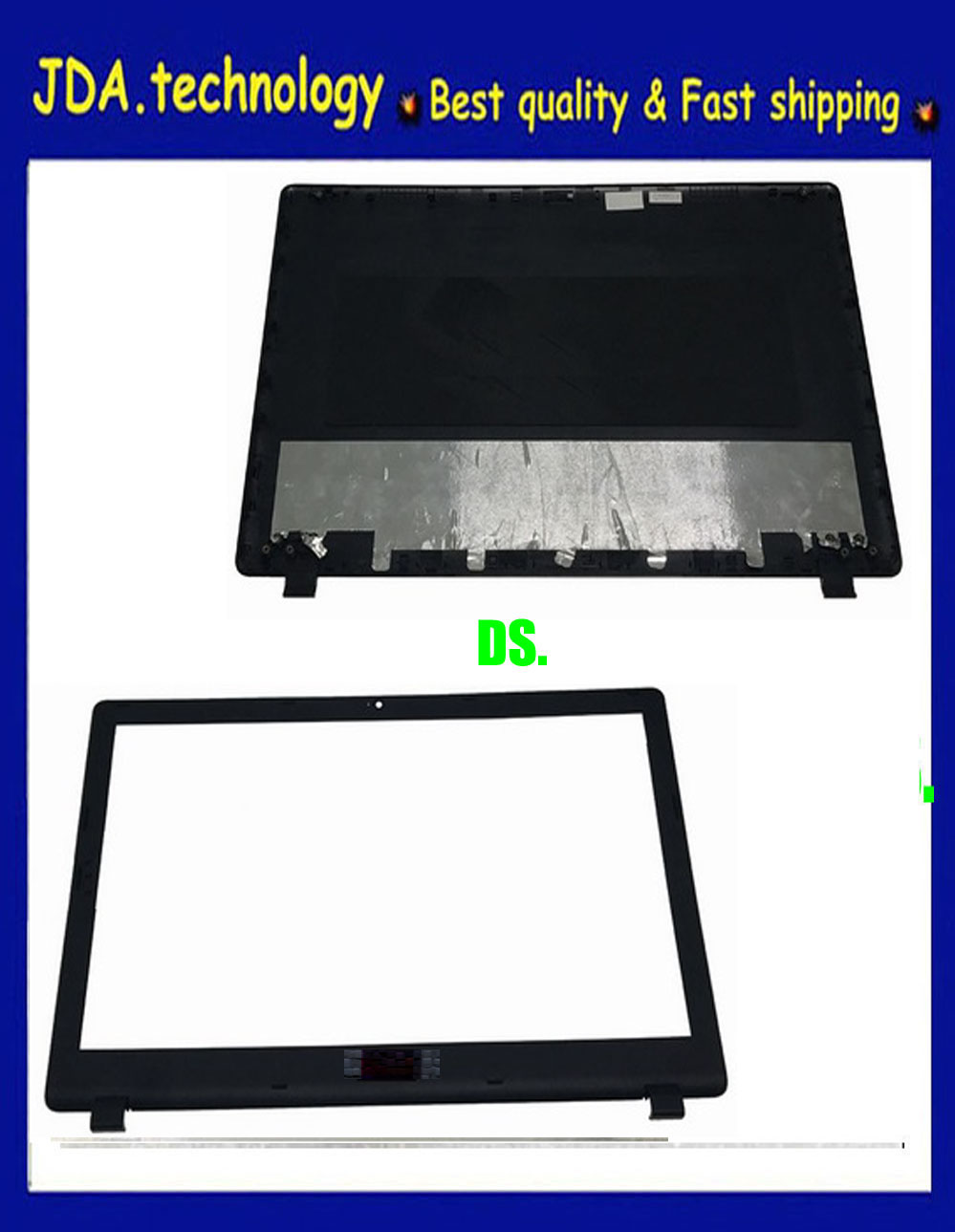New FOR Acer Aspire ES1-512 Rear Lid Top LCD Back Cover screen case